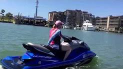 Port Aransas, TX to Corpus Christi, TX riding Kawasaki Jetskis!
