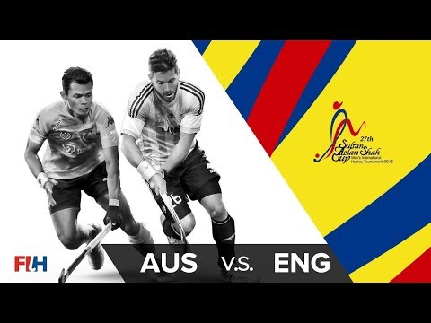 Australia v England - 27th Sultan Azlan Shah Cup Final