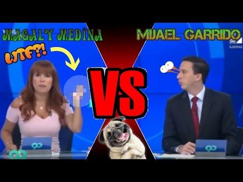 Magaly Medina dejó en ridículo a Mijael Garrido - Magaly Trolea a Mijael - Esto es Guerra  en vivo