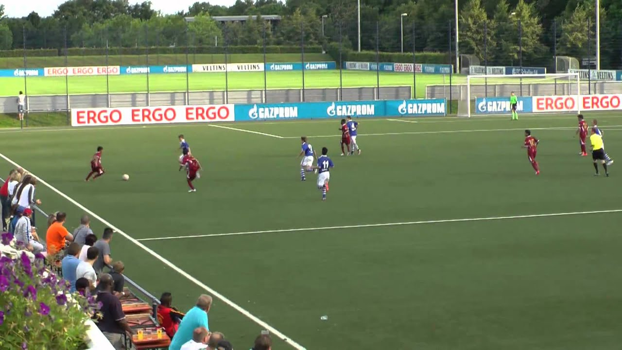 Schalke U15 Nationalmannschaft Katar Aspire Academy