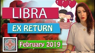 "LIBRA "" EX RETURNS"" Cautious communication February 2019  LOVE READINGS"