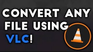 How To Convert Video File Using VLC Media Player Webm to Mp4 MP4 FLV MPG TS Webm Ogg