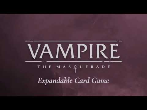 VAMPIRE: THE MASQUERADE – THE EXPANDABLE CARD GAME Joins the Vamily in 2020