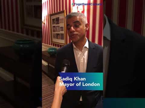 Mayor of London Sadiq Khan - Together4Climate