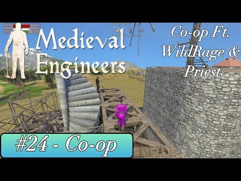 Medieval Engineers - Windmill Woes and Mishaps - With Subs - #24 Ft Wildrage & Priest