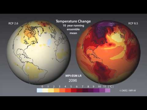 What Will Temperatures Be Like in 2100?