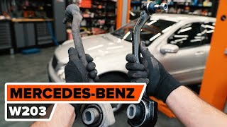 Reparation MERCEDES-BENZ C-klass själv - videoinstruktioner online