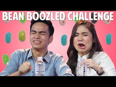 BEAN BOOZLED CHALLENGE: VJ Jairus and VJ Sharlene