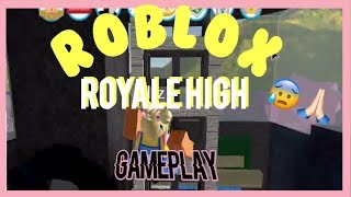 Roblox Royale High Gameplay || crap with liz
