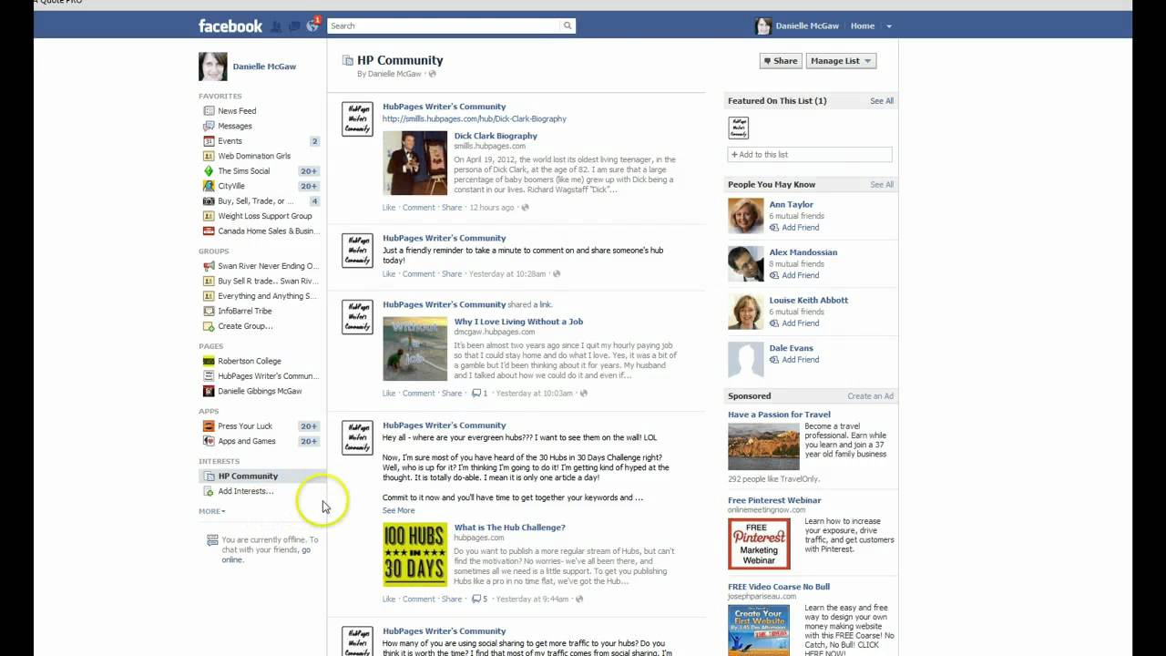 add pages to your facebook favorites youtube