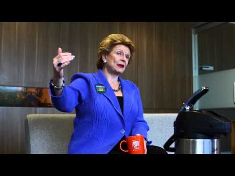Debbie Stabenow talks about Sauly Ste Marie locks