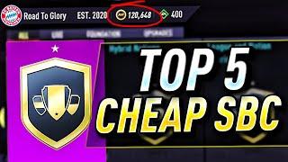 TOP 5 CHEAP SBC'S TΟ COMPLETE FOR GUARANTEED PROFIT!! (FIFA 22 ADVANCED SBC'S)