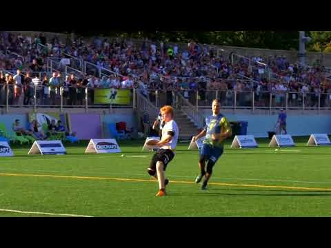 Madison Radicals and Pittsburgh Thunderbirds Throws — 2017 AUDL Playoffs