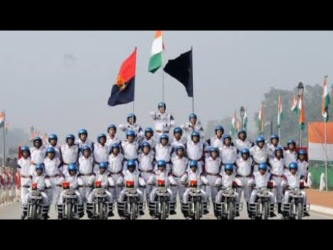 Republic Day of India Signal Corp Motorcyclists