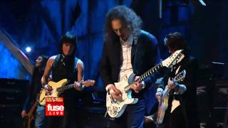 Metallica Live in Rock and Roll Hall of Fame 2009 - Train Kept A Rollin' (Aerosmith cover) High Quality.