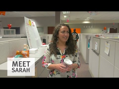 Meet Sarah and life in the Customer Contact Center