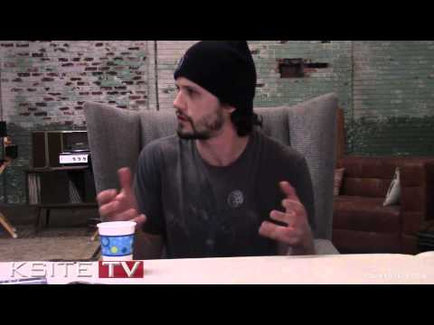 The Originals On Set: Nathan Parsons Jackson