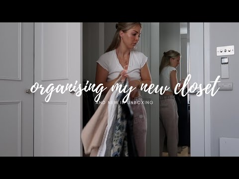 ORGANISING MY NEW CLOSET | UNBOXING NEW IN AND HOME UPDATES