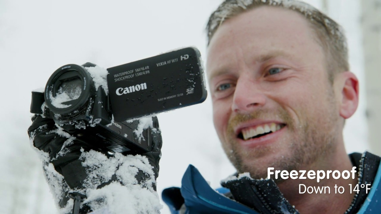 Canon VIXIA HF W10 Waterproof and Shockproof  Camcorder
