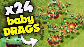 "Clash of Clans: ""BABY DRAGON SWARM!"" EVERYTHING YOU NEED TO KNOW ABOUT THIS NEW TROOP"