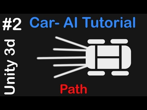 #2 Car AI - Unity 3D Tutorial - Creating the Path