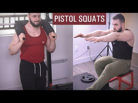 Pistol Squat Hacks (Legit Variations!!)