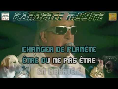 Liberté - Gilbert Montagné (karaoke)