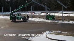 Solar Panel Installation Time-Lapse | Dighton-Rehoboth School District