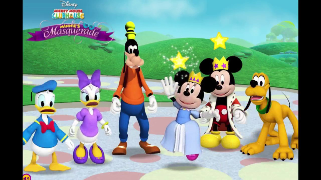 Mickey Mouse Clubhouse: Minnie's Masquerade Game!