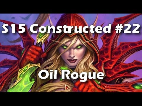 Hearthstone: Oil Rogue - Mistakes Were Made [Season 15 Getting Legend #22]