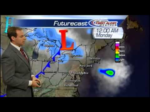 Meteorologist Matt Stevens Sunday morning weather forecast 11-25-2012