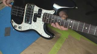 fender jazz bass with modificationsnice frankensteinmods are us