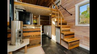 Tiny House Stairs Storage