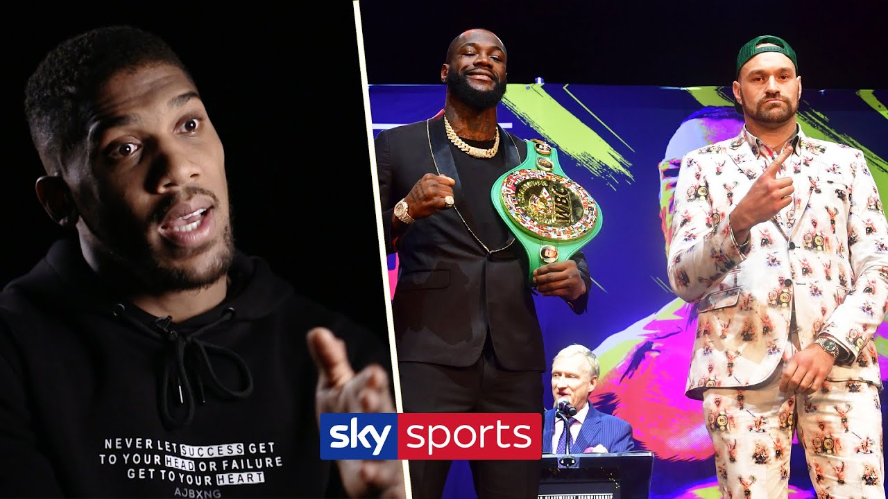 Anthony Joshua's prediction for Deontay Wilder vs Tyson Fury II