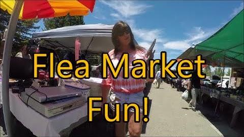 Sebastopol Flea Market Fun! ...They Were Givin' It Away, Guys!
