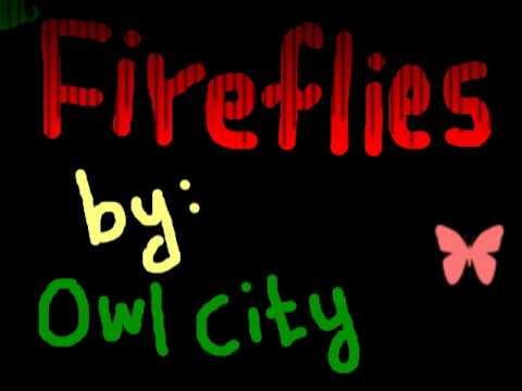 Fireflies karaoke by Owl City.wmv