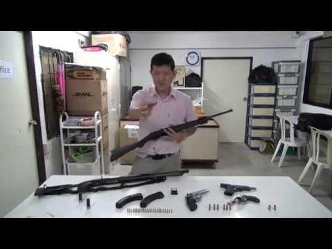 การเลือกปืนสำหรับป้องกันชีวิตและทรัพย์สินภายในบ้าน