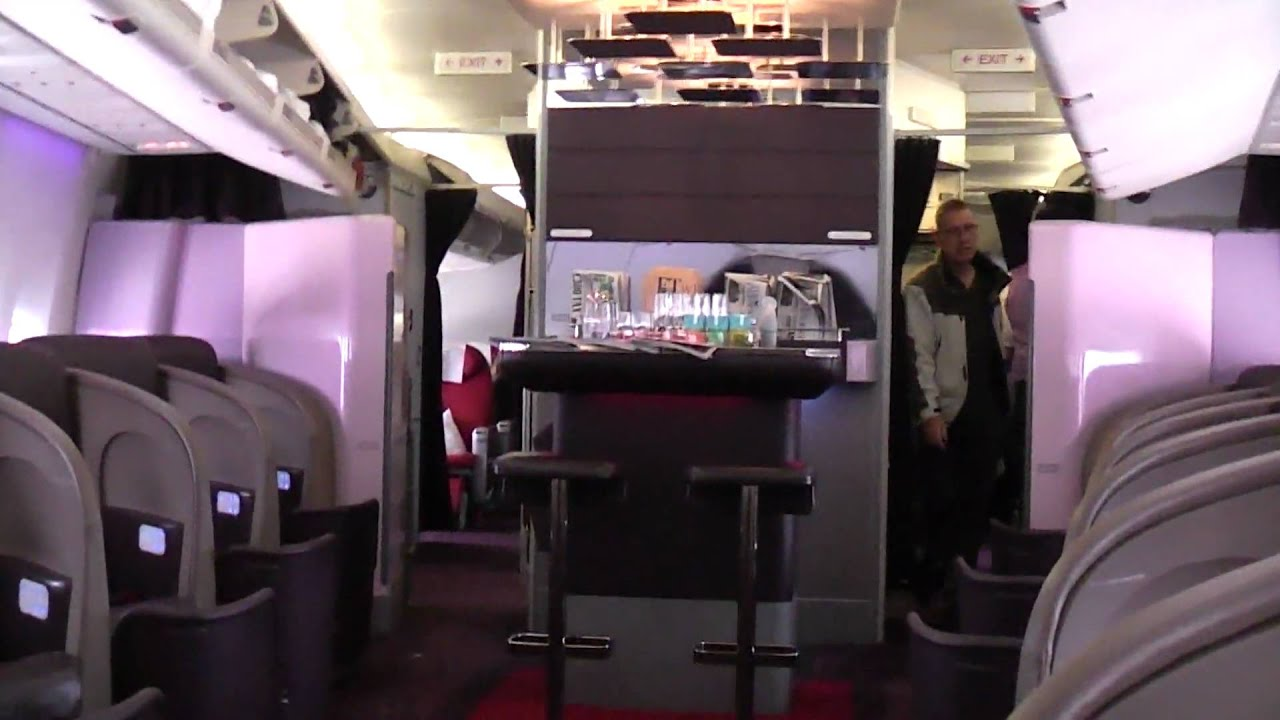 Virgin Upper Class Youtube