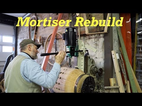 Rebuilding a Hollow Chisel Mortiser Part 2