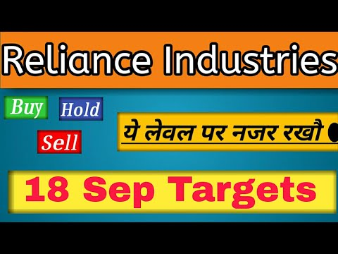 Reliance Share News 18 Sep Reliance Price Target Reliance Industries Share Price Smu Youtube