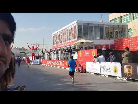 Marathon .2017 Feb. 10 th in rak
