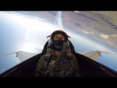 Maika Monroe Flies with the U.S. Air Force Thunderbirds