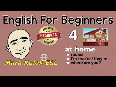 English For Beginners Series - At Home (#4) | Mark Kulek - ESL