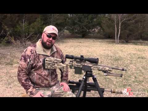 Leveling Base & Direct Rifle Mount from Really Right Stuff