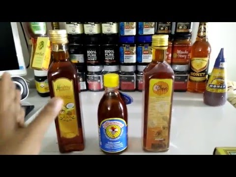 forest raw organic honey of thailand test review