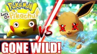 Pokemon Lets Go Pikachu!   DESTROYING Bushy's Pokemon! *SICKO MODE!*   Nintendo Switch [2]
