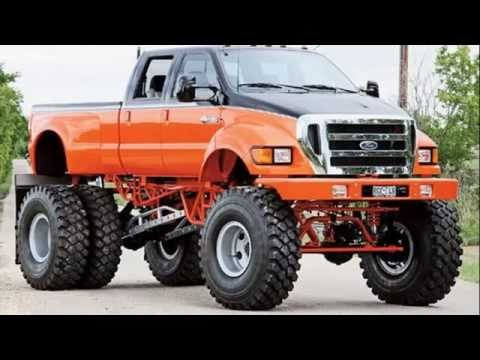 Lifted Ford Truck >> ford f750 Huge Offroad Truck F650 - YouTube