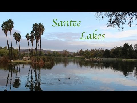 Santee Lakes, Santee, San Diego - Music by iMovie