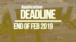CBS Scholarship Advert 2019