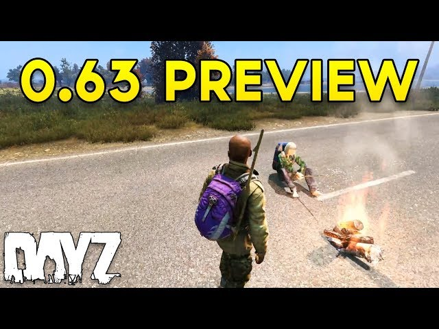 #DayZ 0.63 Preview - Developer Live Stream Overview